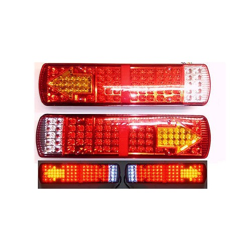 Led Rear Tail Lights Truck 52x14cm