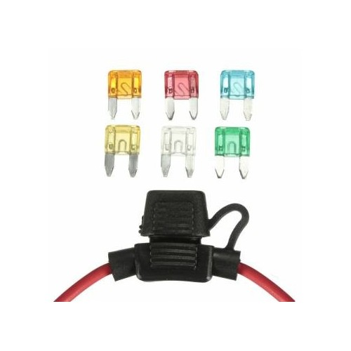 MINI CAR FUSE HOLDER ΑΣΦΑΛΕΙΕΣ