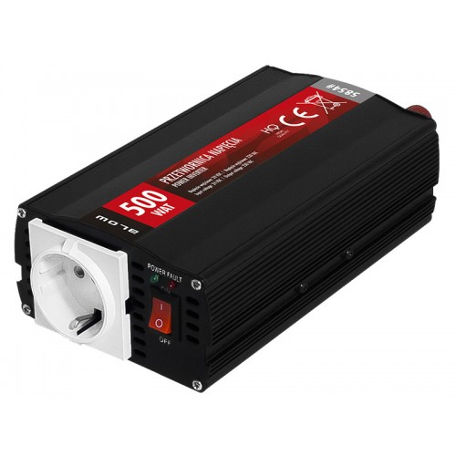INVERTER 24V to 230V 500VA