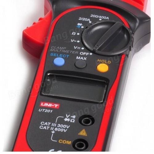 Digital Auto Range Clamp Multimeter DMM