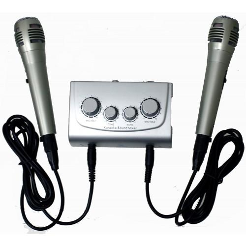 Karaoke mixing console