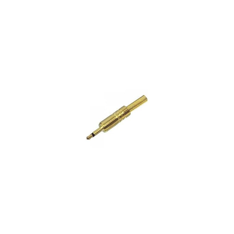 PIN MONO 3.5mm² METALGOLD-PLATED D011G LZ-LNC