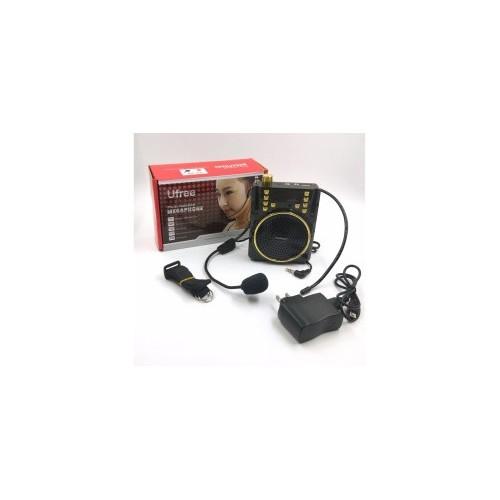 Multi-Function Megaphone Lapel Amplifier for Teacher,FM,MP3