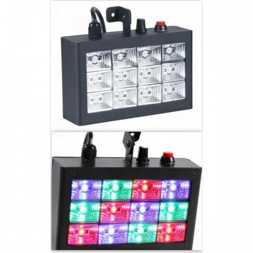 STROBO LIGHT ME LED RGB