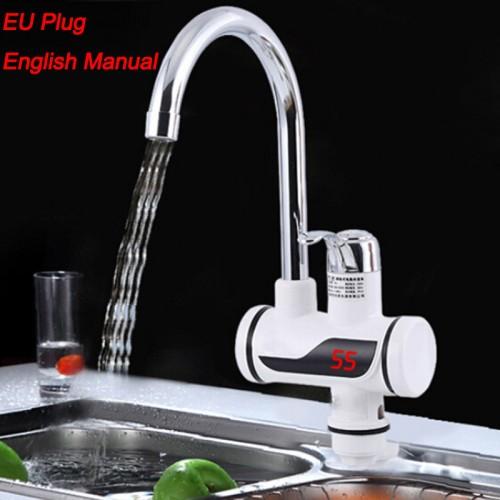LED-Digital Display Electric Water-Heater-Faucet-Tap