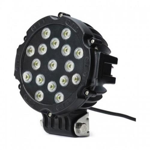 "Black 7\\"" Round 51W LED Off Road Spot Light"