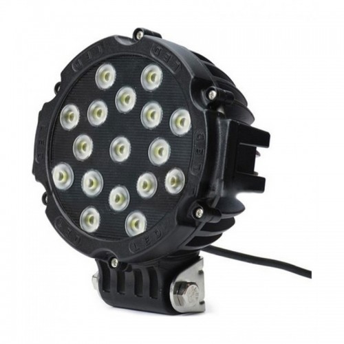 "Black 7"" Round 51W LED Off Road Spot Light"