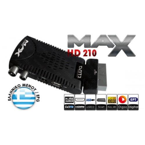 MAX T225HD ΔΕΚΤΕΣ (DVB)