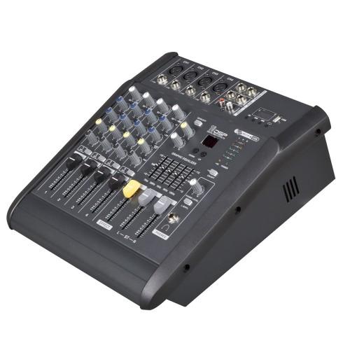 MX402D USB professsional power mixer amplifier for mini club