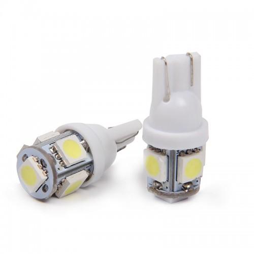 SET 5SMD LED диодна крушка