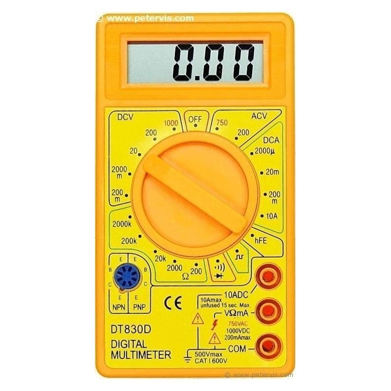 DT 830D Digital Multi Meter