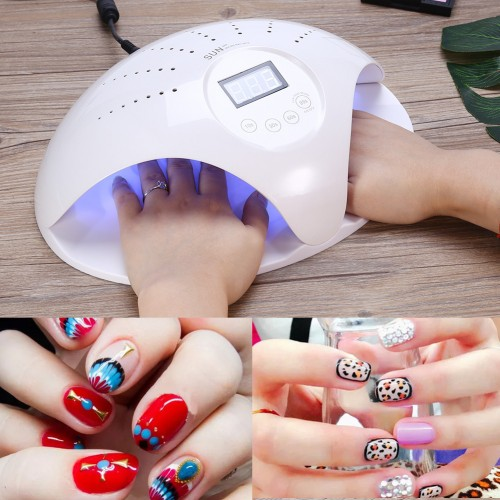 48W SUN 669 LED UV Nail Lamp