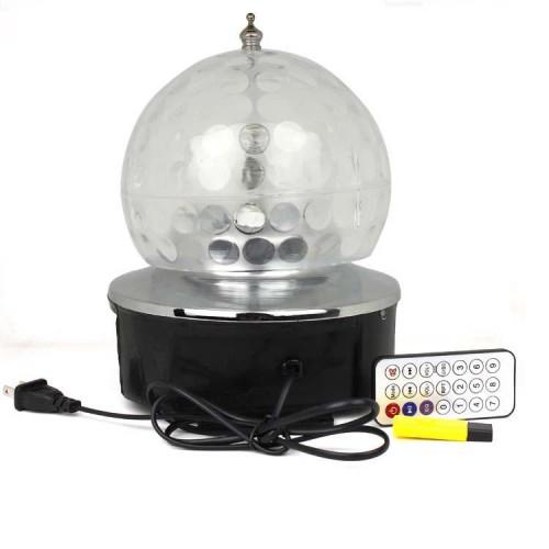 Magic Ball Light with Speaker Function Crystal LED Magic Ball