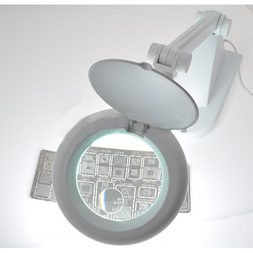 Professional-Quality Desk Magnifier Lamp ZD121 LED