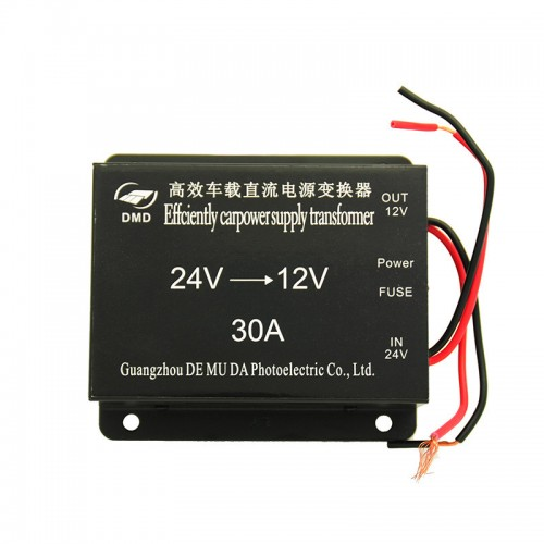30A 24 volt 12 volt converter for 12v car