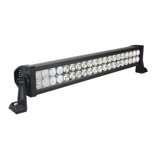 ΑΔΙΑΒΡΟΧΟΣ LED LIGHT BAR 120W 12 - 24 VDC ΓΩΝΙΑ 60/30 ° COMBO
