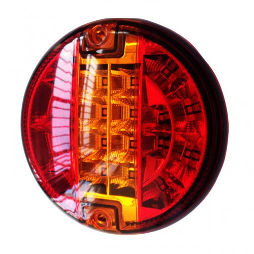 Universal LED Rear Combination Hamburger Cheeseburger Lamp