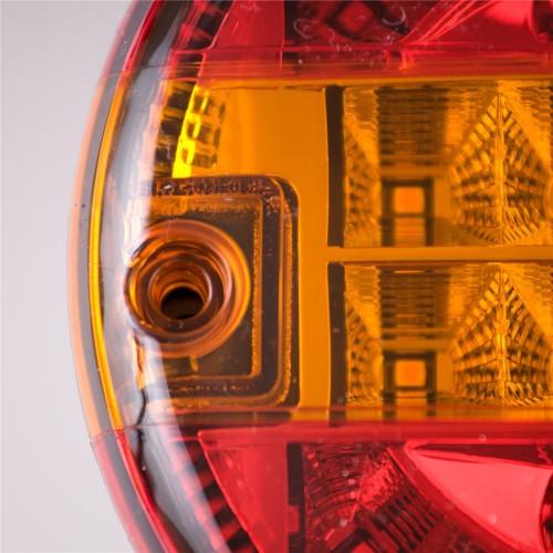 Universal LED Rear Combination Hamburger Cheeseburger Lamp