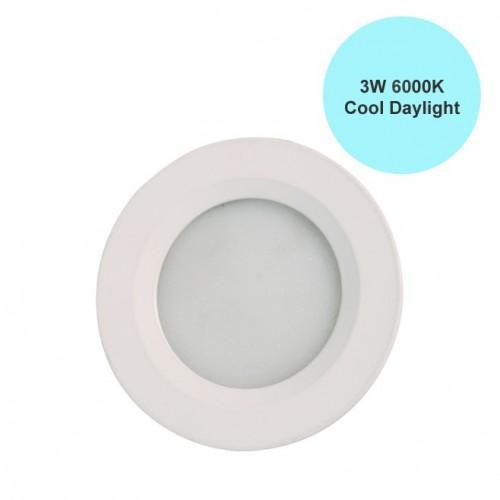 ΦΩΤΙΣΤΙΚΟ PL 3W LED 270 LUMEN 6400K cool WHITE