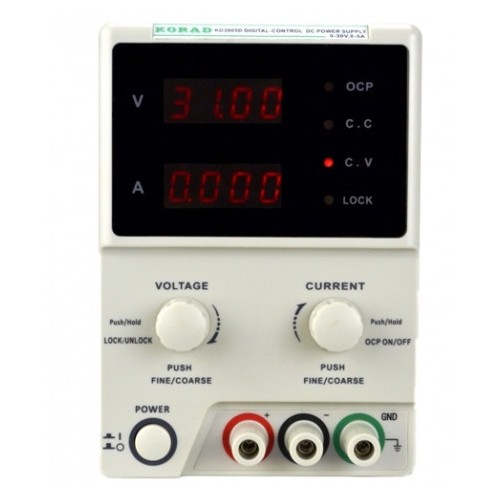 Adjustable 30V, 5A DC Linear Power Supply Digital Regulated Lab Grade Write Your Review