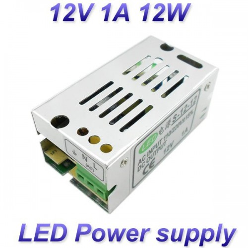 12V 1A 12W Switching led Power Supply