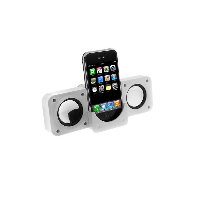 WH-MP3-SP10 ΗΧΕΙΑ ΓΙΑ iPOD - MP3 ΜΠΑΤΑΡΙΑΣ ΚΑΙ USB ΛΕΥΚΑ