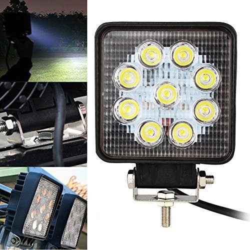 SLIM 27W LED WORK LIGHT HEADLIGHT