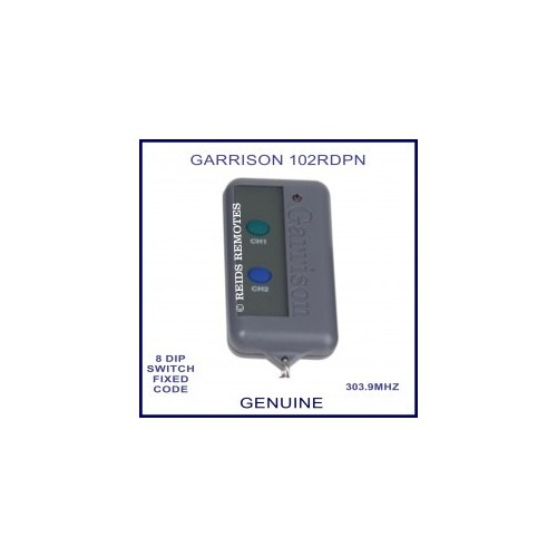 Garrison LK102-R2 Garage Door Remote