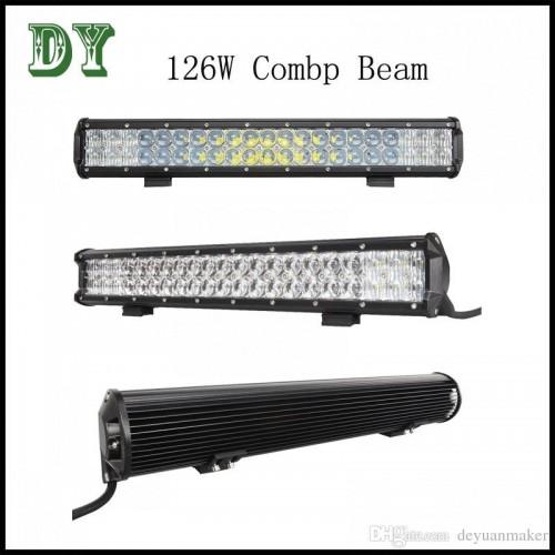 126w LED WORK LIGHT BAR HYBRID LED BAR