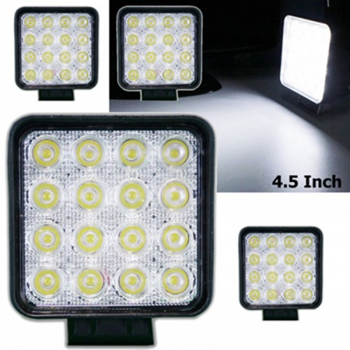 48W Square LED Work Light HEADLIGHT