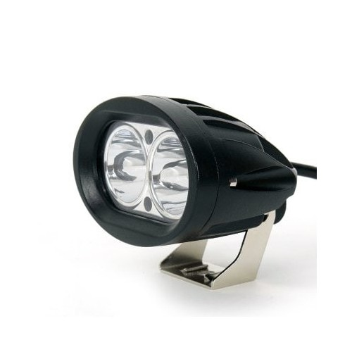 20W Led Driving Lights Motorcycle Led Work Light 12V Led Spot Light Offroad - BLACK 2