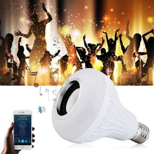Wireless Bluetooth 3.0 LED Music Speaker Bulb