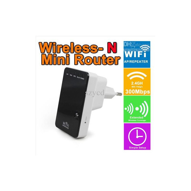 WIRELESS N MINI ROUTER 300mbS