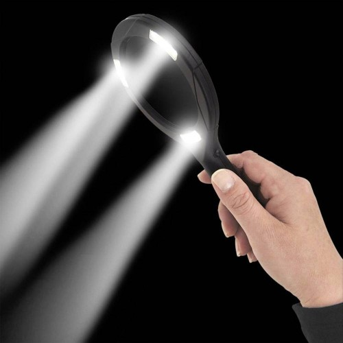 COB LED Illuminated magnifier battery-powered ProPlus