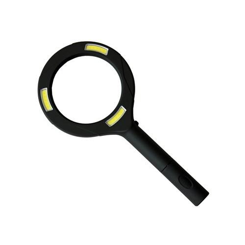 COB LED Illuminated magnifier battery-powered ProPlus