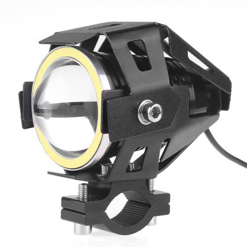 U7 LED Fog Light Bike Driving DRL Fog Light Spotlight, High/Low Beam