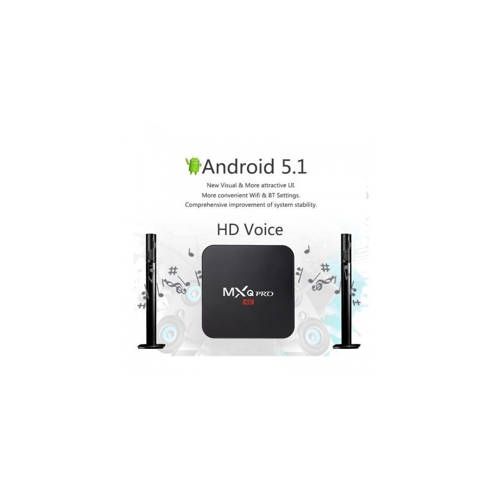 MXq pro Smart Box TV Android mxq pro 4k smart set tv box android 6