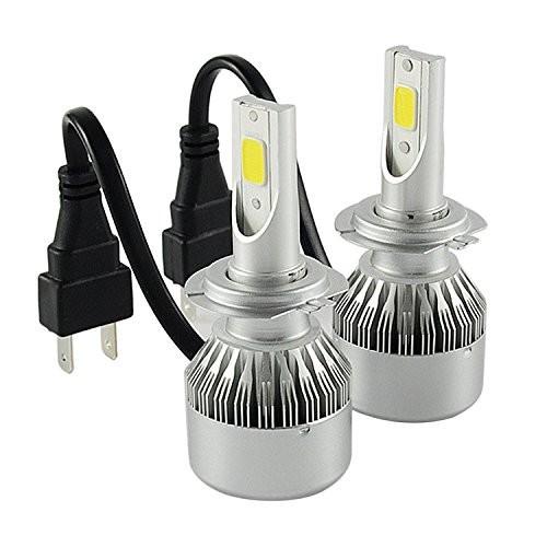 C6 H7 Car Headlight Led Cob 72W C6 Led Headlight H7 7600LM Led H7 Headlight For Led Car Light 6000K