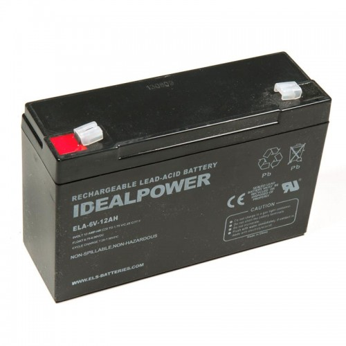 6 volt 12ah SLA Battery-Electronics