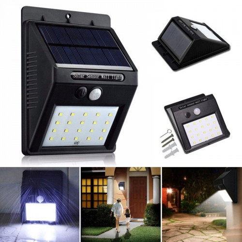 Solar Human Body Induction Outdoor Wall Lamp