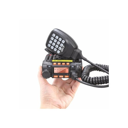 QYT KT-8900 Dual-Band VHF UHF Car/Trunk Ham Mobile Transceiver Two Way Radio 25W