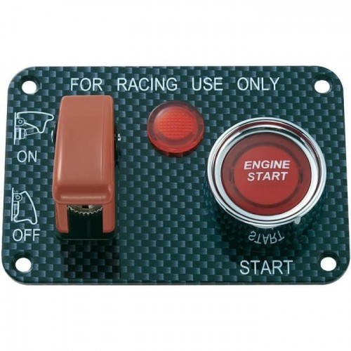 car engine start switch button panel , engine start stop button
