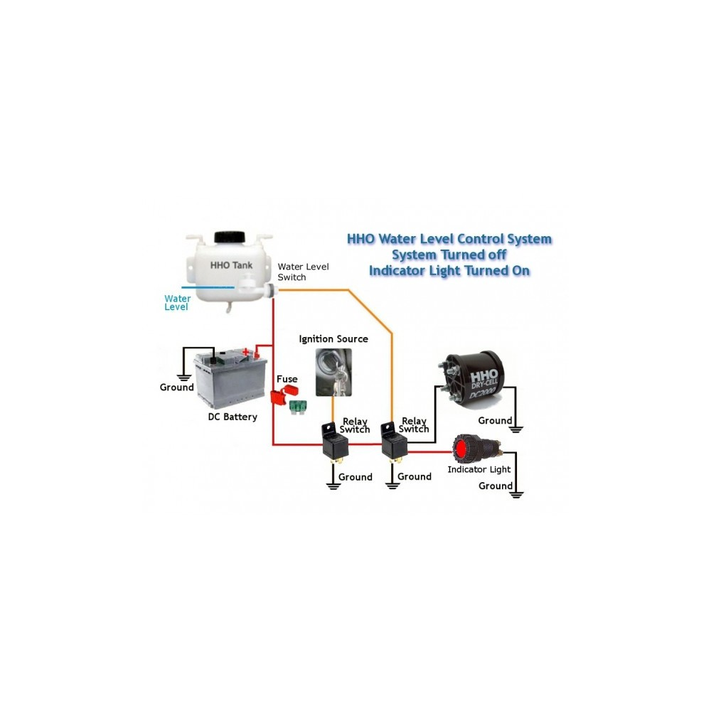 Liquid Water Level Float Switch Rig Relay Right Angle