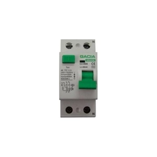 Residual Current Circuit Breakers sr6hm 2P 40A/30MA A Fi Switch