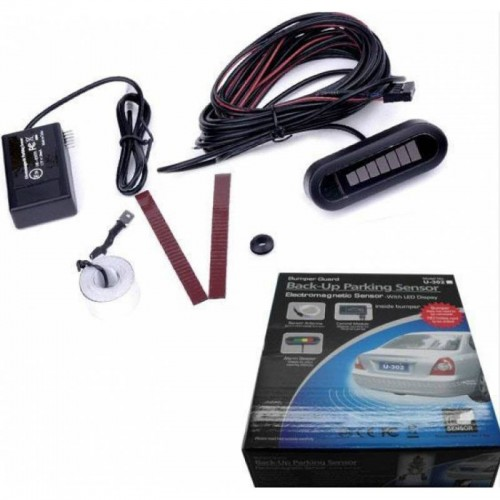 Electromagnetic Car Parking Sensor Reversing Reverse Backup Radar System Alarm