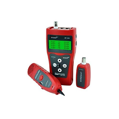 Network monitoring cable tester LCD