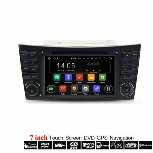 MERCEDES W209 - ANDROID GPS ΑΥΤΟΚΙΝΗΤΟΥ 2DIN MULTIMEDIA