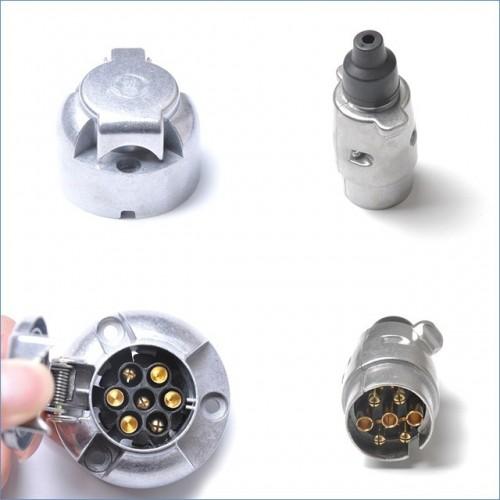 7-Pin Trailer Socket SET