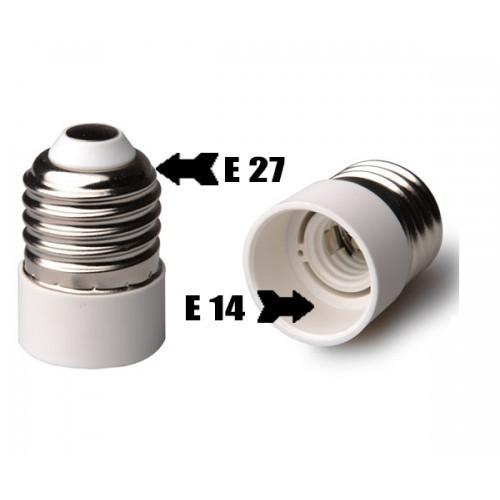 Bulb Base Adapter Socket Converter Socket E14 To E27