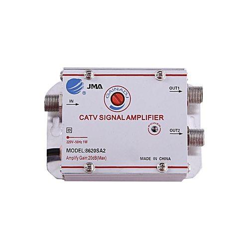 CATV Signal Amplifier - Silver (220V)
